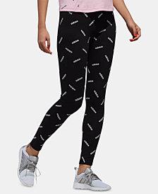 adidas Logo-Print Leggings