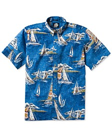 Reyn Spooner Men's A Following Sea Printed Shirt