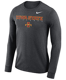 Nike Men's Iowa State Cyclones Long Sleeve Facility T-Shirt