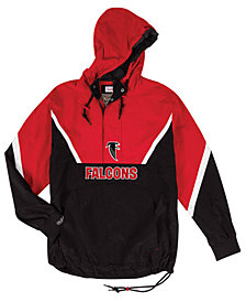 Mitchell & Ness Men's Atlanta Falcons Half-Zip Anorak Jacket