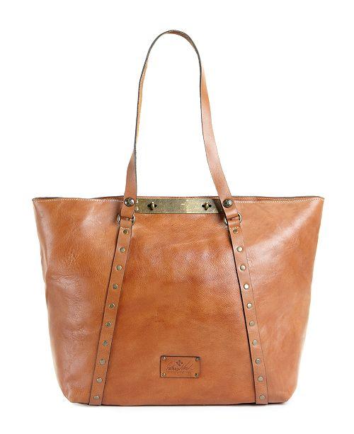 Patricia Nash Benvenuto Smooth Leather Tote - Handbags   Accessories ... 6cd85278df