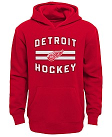 Detroit Red Wings Goal Maker Hoodie, Big Boys (8-20)