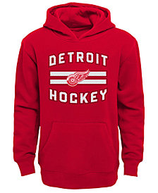 Outerstuff Detroit Red Wings Goal Maker Hoodie, Big Boys (8-20)