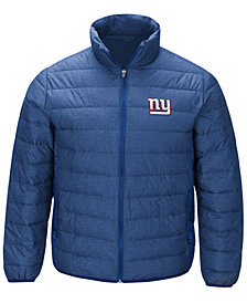 G-III Sports Men's New York Giants Playoff Quilted Polyfill Jacket