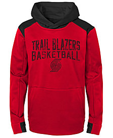 Outerstuff Portland Trail Blazers Off The Court Hoodie, Big Boys (8-20)