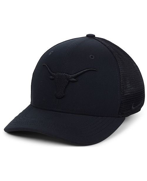 9149c90870d Nike Texas Longhorns Aerobill Black Swoosh Cap   Reviews - Sports ...