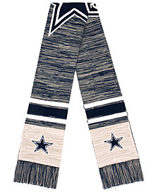 Forever Collectibles Dallas Cowboys Knit Color Blend Big Logo Scarf