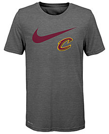 Nike Cleveland Cavaliers Swoosh Team T-Shirt 2018, Big Boys (8-20)
