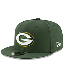 New Era Green Bay Packers Metal Thread 9FIFTY Snapback Cap