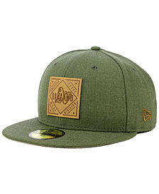 New Era Oakland Athletics Leather Patch 59FIFTY-FITTED Cap