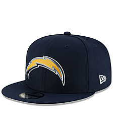 New Era Los Angeles Chargers Metal Thread 9FIFTY Snapback Cap
