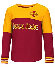 Colosseum Iowa State Cyclones Colorblocked Long Sleeve T-Shirt, Toddler Girls (2T-4T)