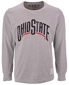 Retro Brand Men's Ohio State Buckeyes Deconstructed Sweatshirt