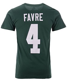 Majestic Men's Brett Favre Green Bay Packers Hall of Fame Eligible Receiver Triple Peak T-Shirt
