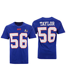 Majestic Men's Lawrence Taylor New York Giants Hall of Fame Eligible Receiver Triple Peak T-Shirt