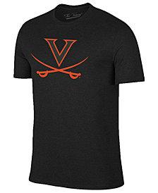 Champion Men's Virginia Cavaliers Black Out Dual Blend T-Shirt