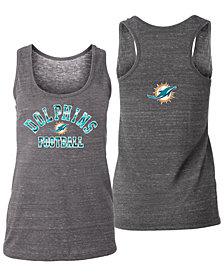 5th & Ocean Women's Miami Dolphins Racerback Tank