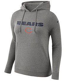 Nike Women's Chicago Bears Club Pullover Hoodie