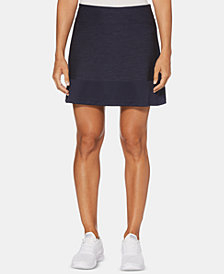 PGA TOUR Heathered Golf Skort
