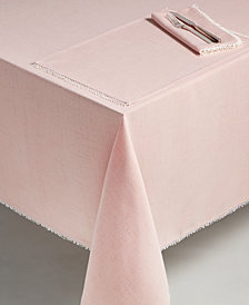 "Lenox French Perle Blush 60"" x 102"" Tablecloth"
