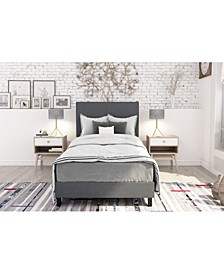 Jazmine Twin Upholstered Bed