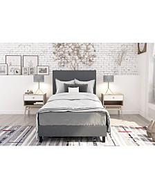 EveryRoom Jazmine Twin Upholstered Bed