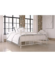 Maisie Queen Metal Bed