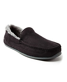 Slipperooz Men's Spun Indoor Outdoor S.U.P.R.O. Sock Cozy Moccasin Slipper