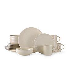 Mikasa Benson Beige 16 Piece Dinnerware Set