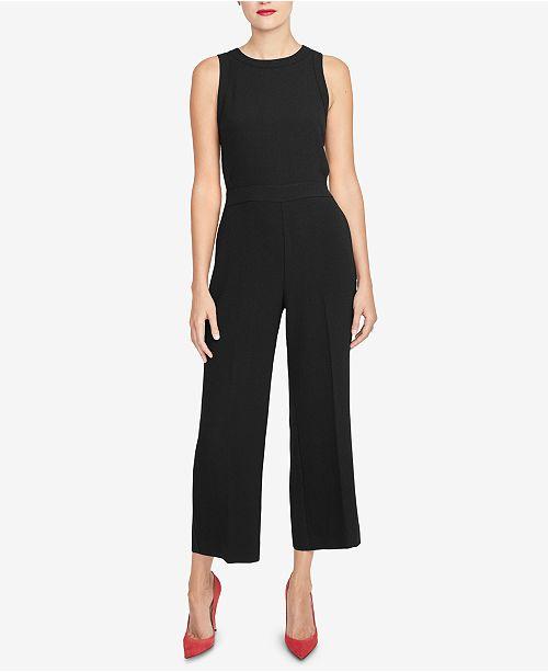 RACHEL Rachel Roy Side-Cutout Jumpsuit, Created for Macy's