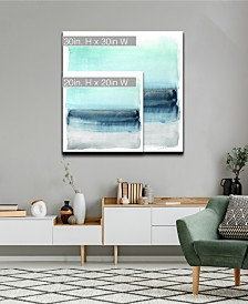 Ready2HangArt 'Parallel Energy I' Abstract Canvas Wall Art Collection
