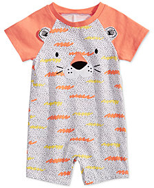 First Impressions Baby Boys Cotton Tiger Sunsuit, Created for Macy's