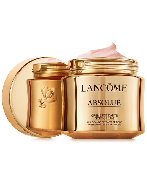Lancome Absolue Revitalizing & Brightening Soft Cream With Grand Rose Extracts, 2 oz.