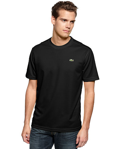 Lacoste Men's Sport Short Sleeve Super Dry T-Shirt - T-Shirts ...