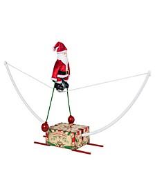 Unicycling Santa Animated Musical