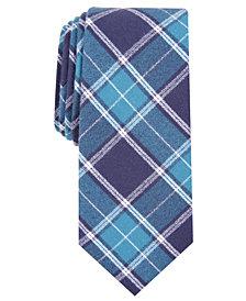 Bar III Men's Hemlock Slim Plaid Tie, Created for Macy's