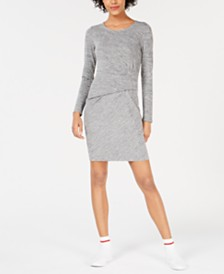 Bar III Ruched-Waist Dress, Created for Macy's