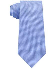 Michael Kors Men's Puppytooth Classic Silk Tie