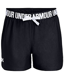 Under Armour Big Girls Play Up Shorts