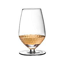 Jay Imports Daphne Gold Set of 4 Sauvignon Wine Glasses