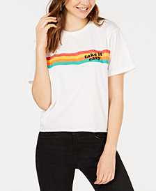 Rebellious One Juniors' Take It Easy T-Shirt