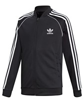 ffc32599d19c adidas Originals Big Boys Superstar Track Jacket