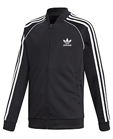 adidas Originals Big Boys Superstar Track Jacket