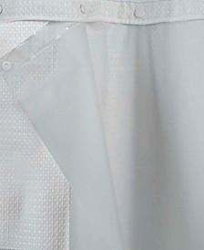 """Peva Snap 70"""" x 54"""" Shower Curtain Liner"""