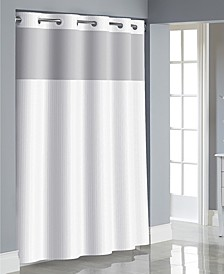Herringbone 3-in-1 Shower Curtain