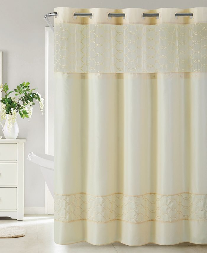 Hookless - Downtown Soho 3-in-1 Shower Curtain