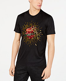 I.N.C. Men's Heart Graphic T-Shirt, Created for Macy's