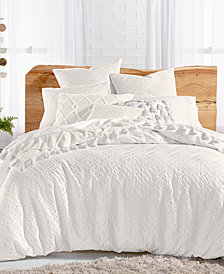 Lucky Brand Taos Cotton 3-Pc. Matelasse King Duvet Cover Set, Created for Macy's