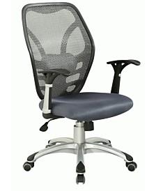 Bella Luna Mesh Seat And Back Bella Luna Pneumatic Office Chair