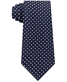 Michael Kors Men's Textured Allover Dot Silk Tie